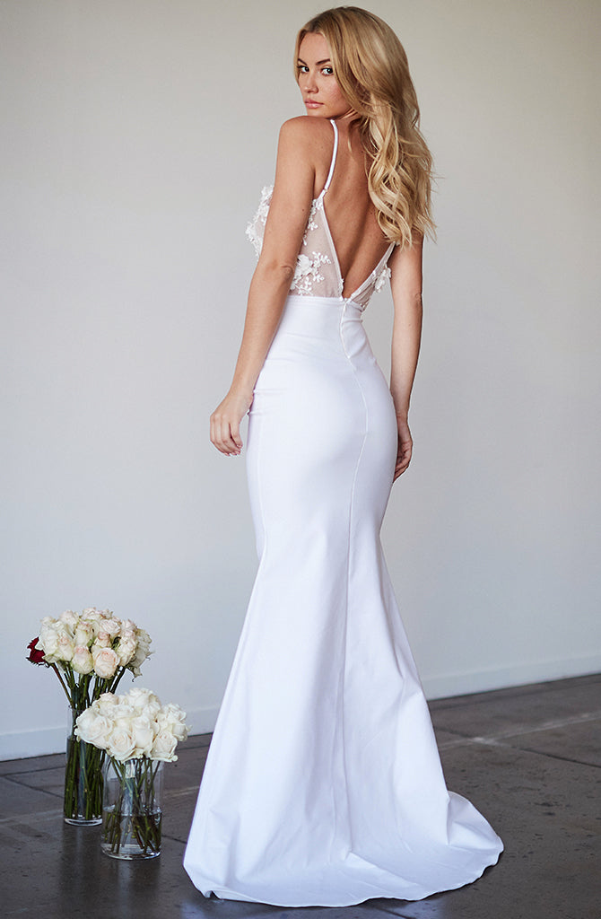 ROSE GOWN SAMPLE SALE