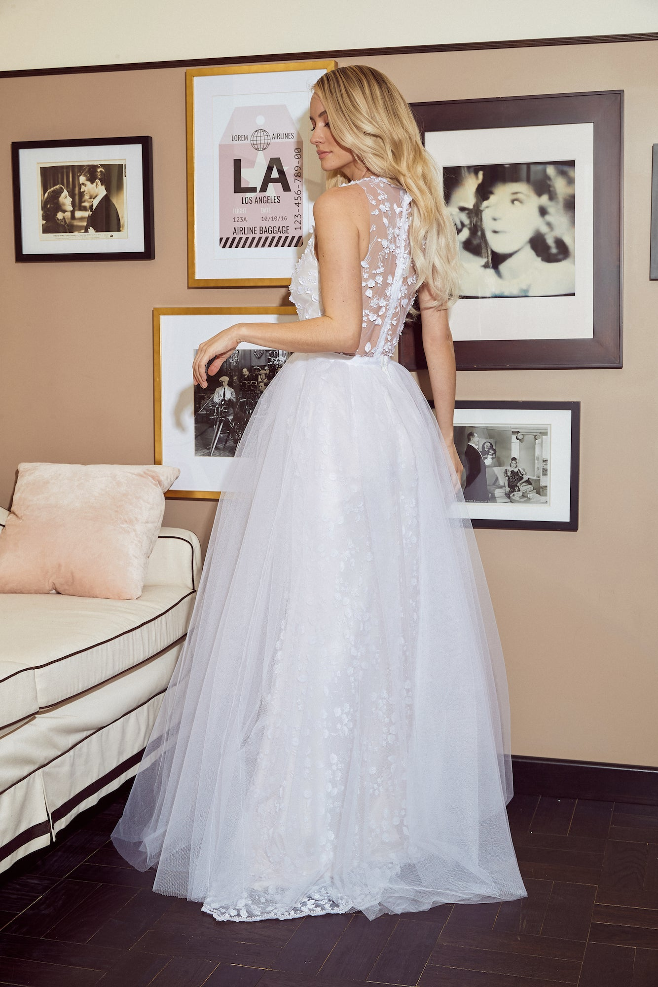CIDNEY BEADED GOWN