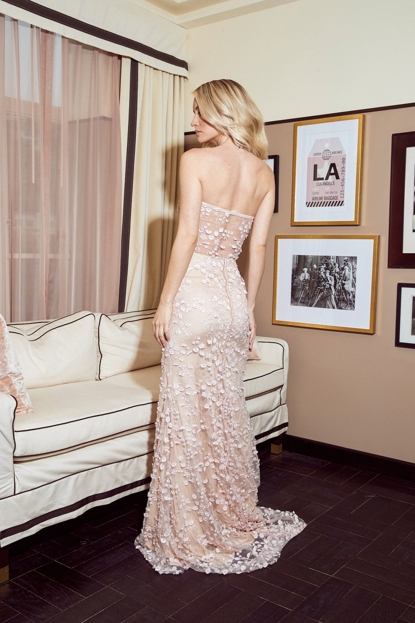 CIDNEY SWEETHEART GOWN