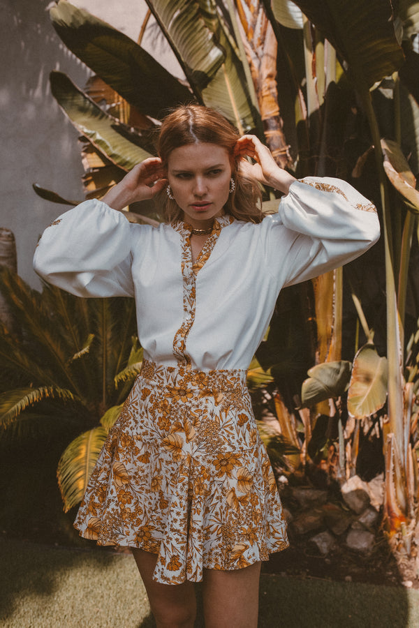 SUNRAY BLOUSE - Lurelly