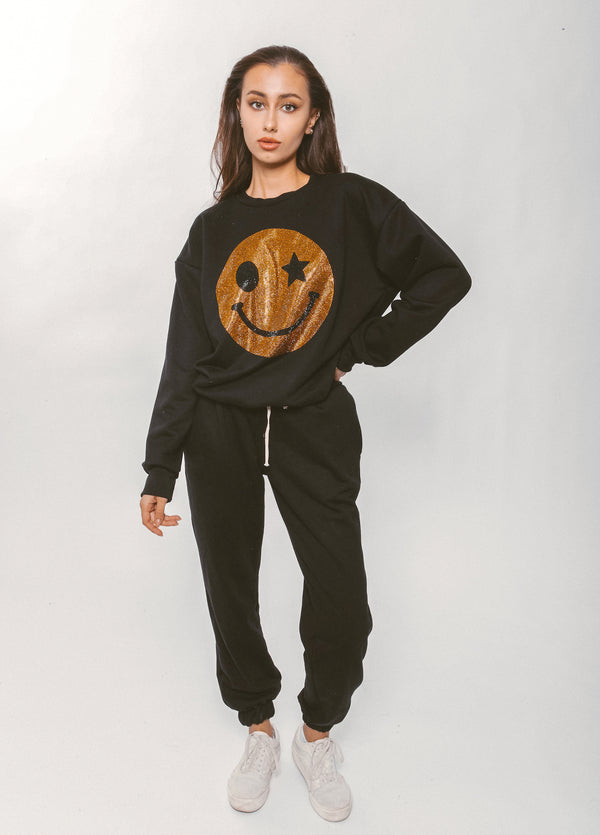 SMILE SWEATSHIRT - Lurelly