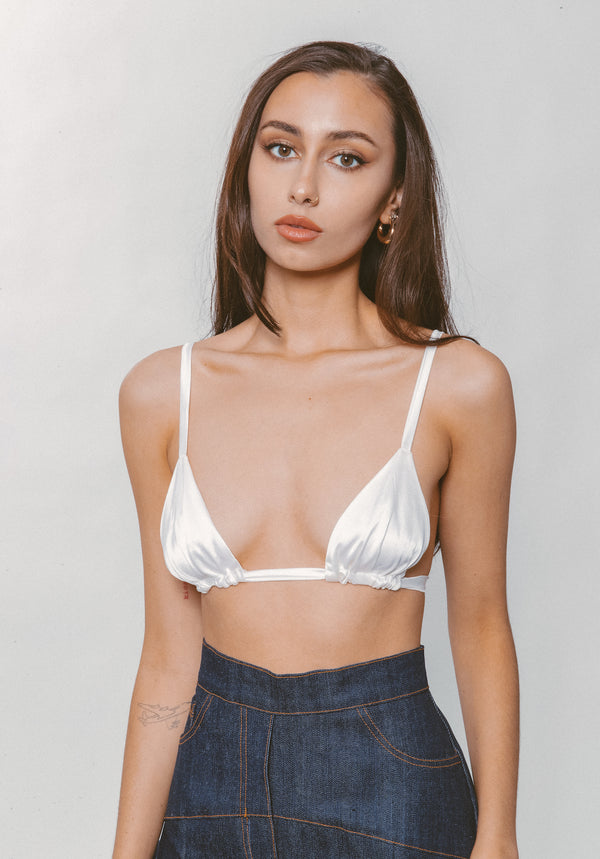 SARA SILK BRA - Lurelly