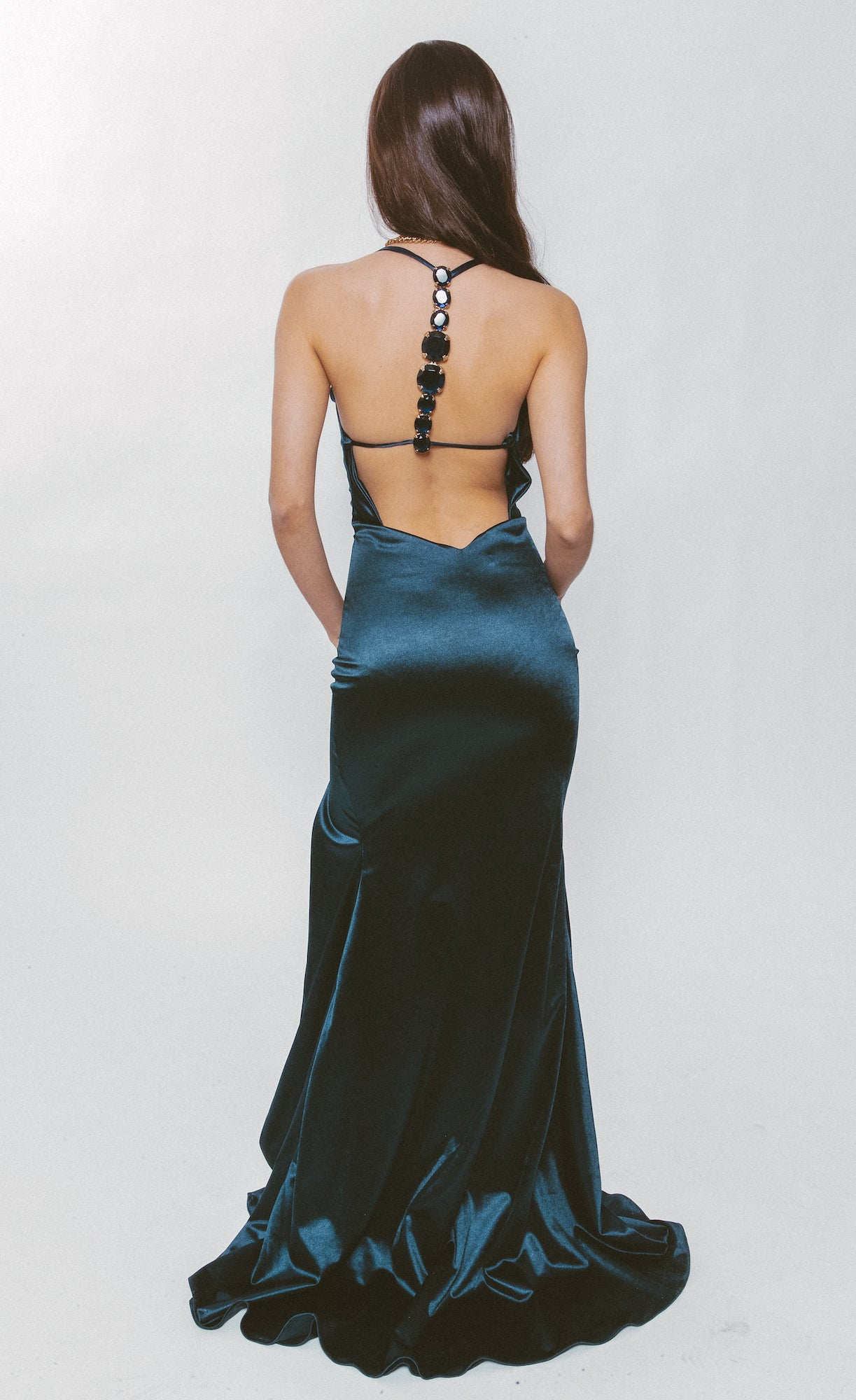 LIRA JEWELED GOWN - Lurelly