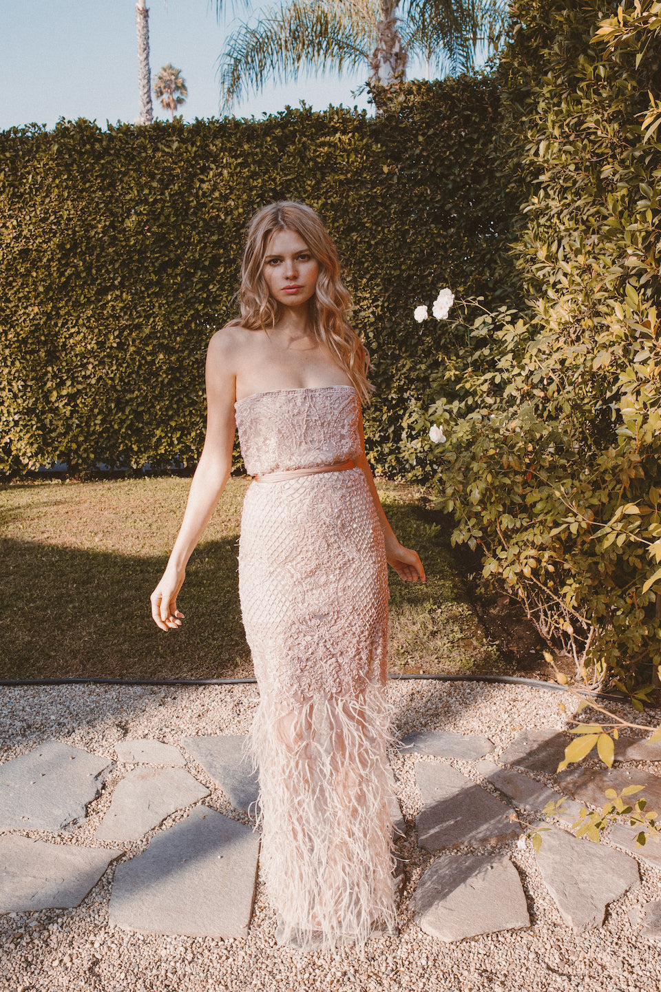 WISH BEADED GOWN - Lurelly