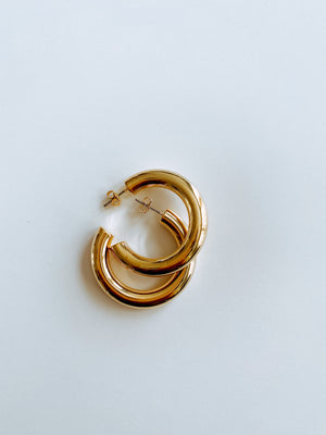 FANCY GOLD HOOPS Thumbnail - Lurelly