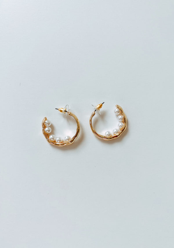 MOTHER O'PEARL HOOPS - Lurelly