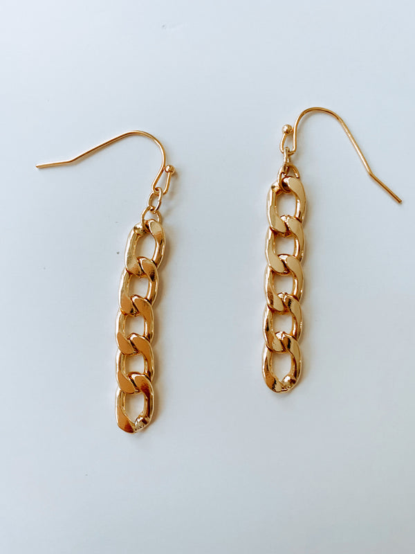 CHAIN LINK EARRINGS SALE - Lurelly