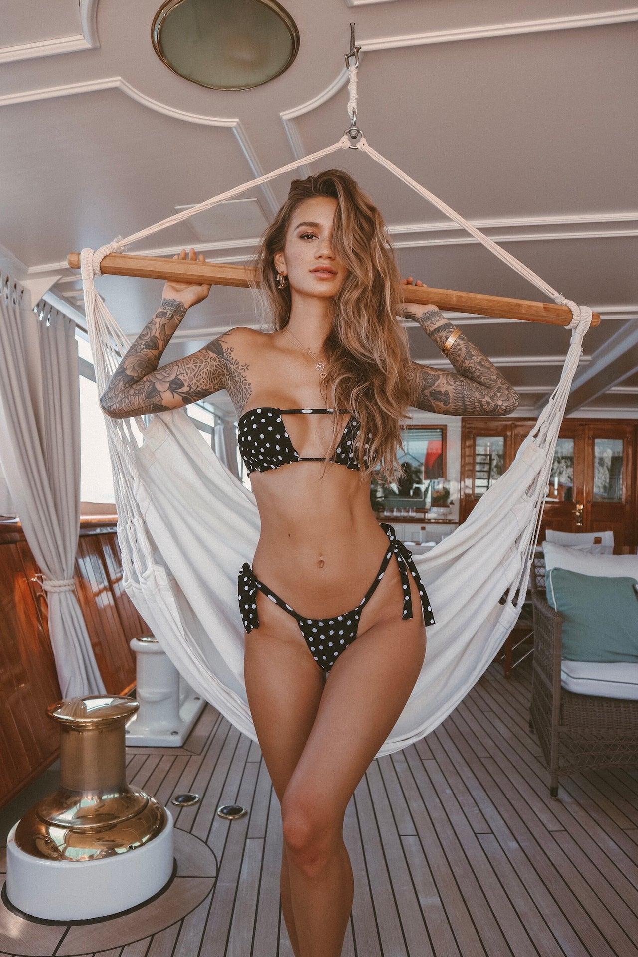 LURELLYXGYPSYONE SOFIA HALTERED SWIM - Lurelly