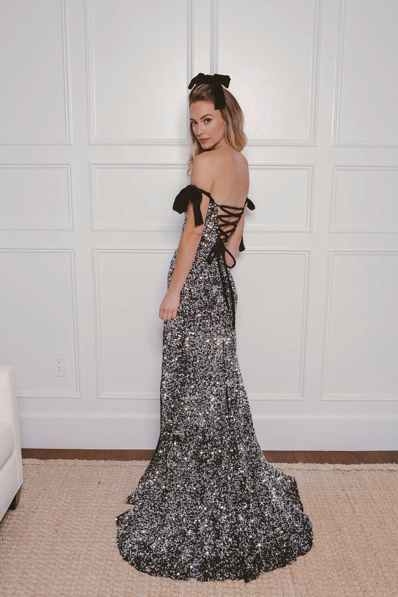 AUDREY SEQUIN GOWN - Lurelly