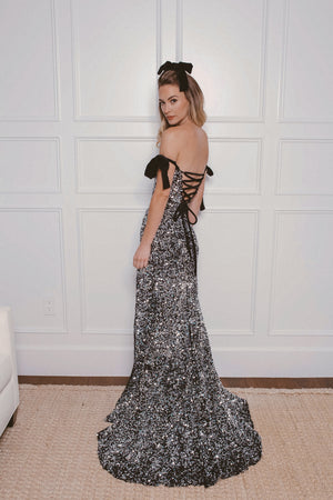 AUDREY SEQUIN GOWN Thumbnail - Lurelly
