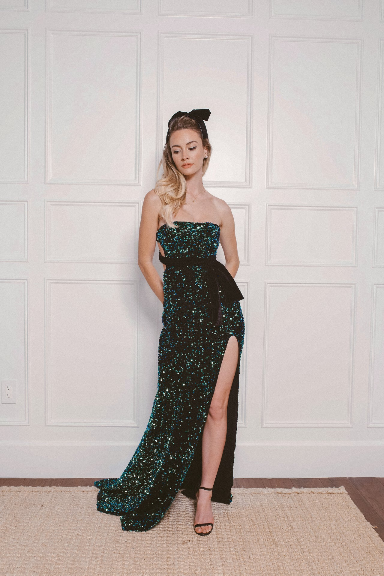 ARIEL SEQUIN GOWN - Lurelly