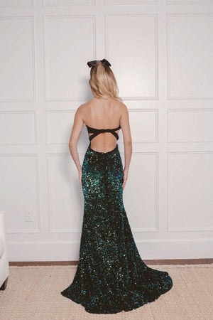 ARIEL SEQUIN GOWN Thumbnail - Lurelly