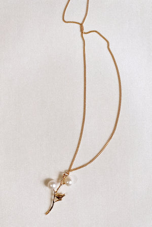 PEARLY BRANCH NECKLACE SALE Thumbnail - Lurelly