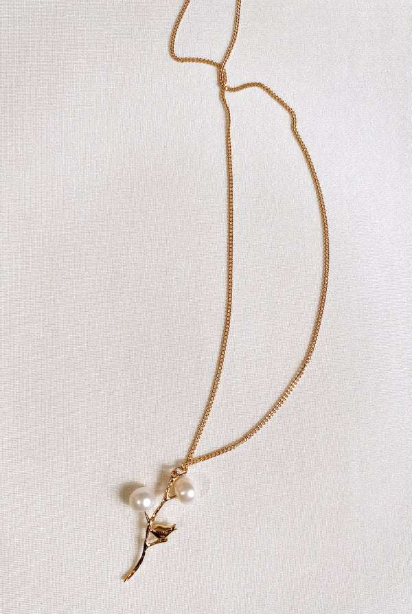 PEARLY BRANCH NECKLACE SALE - Lurelly