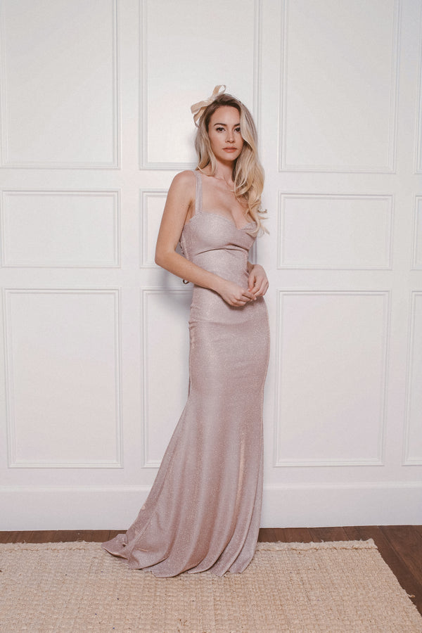 ROMEE GLITTER GOWN - Lurelly