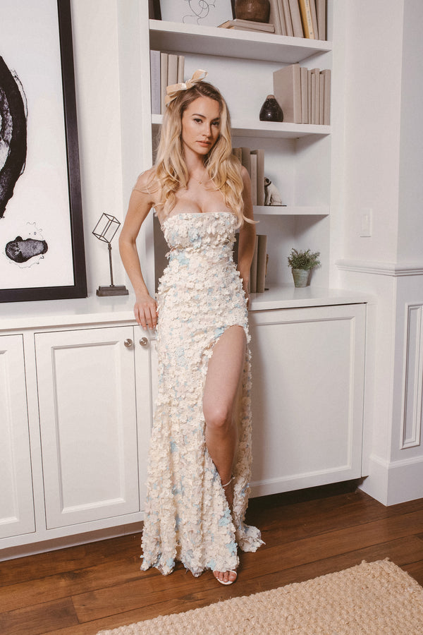 PROVENCE FLORAL GOWN - Lurelly