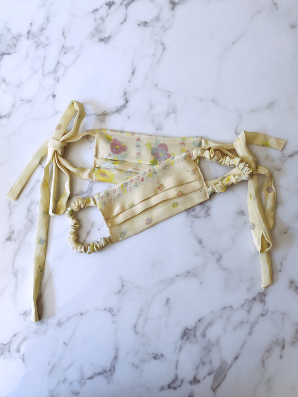 DAISY SILK MASK - Lurelly
