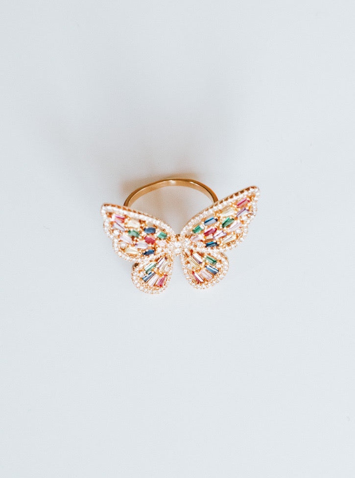 BUTTERFLY RING - Lurelly