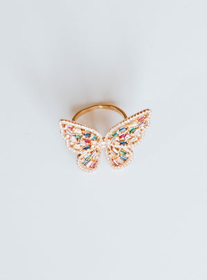 BUTTERFLY RING Thumbnail - Lurelly
