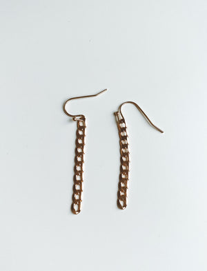CHAIN LINK EARRINGS Thumbnail - Lurelly