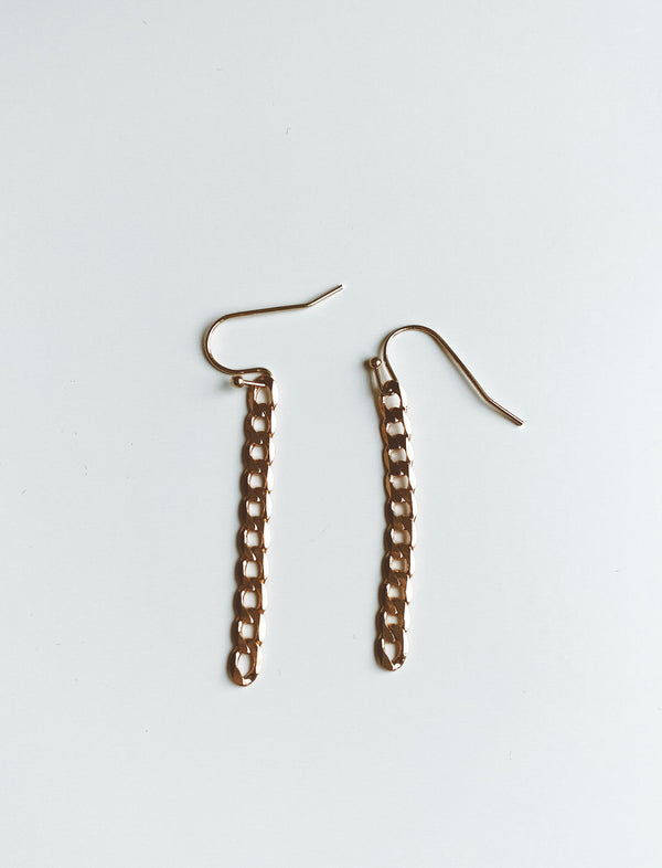 CHAIN LINK EARRINGS - Lurelly