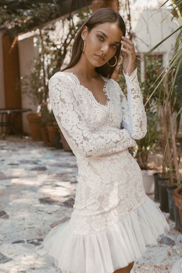 VELA LACE TULLE DRESS SALE - Lurelly