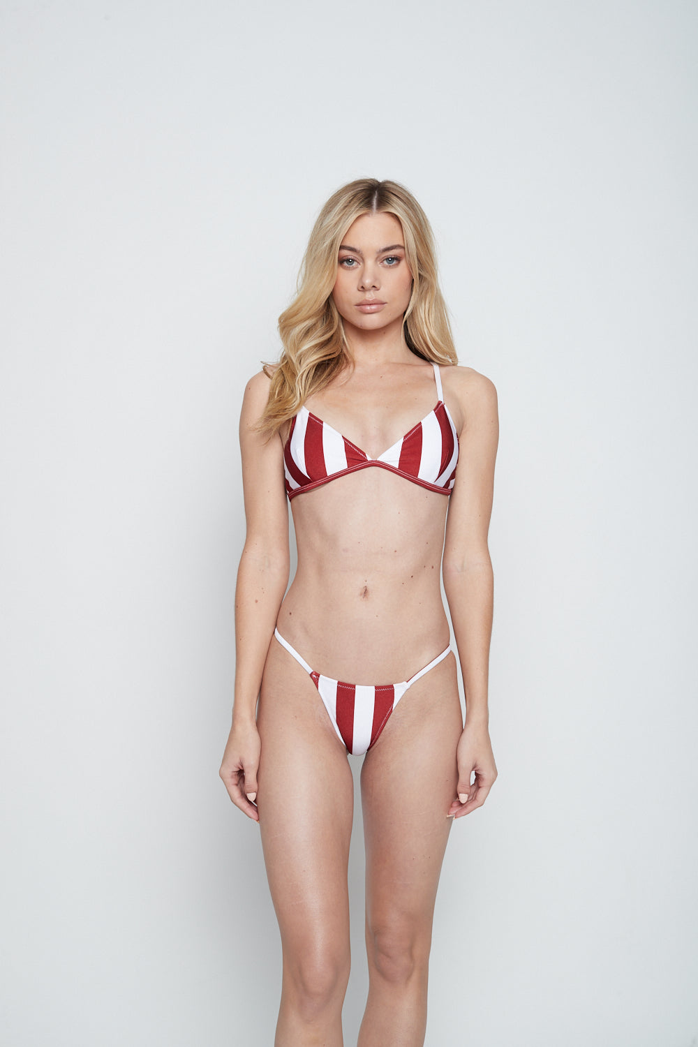 BELLA BOTTOM (RED STRIPE) - Lurelly