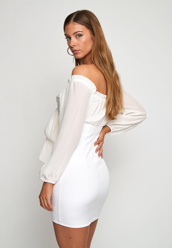 BUTTERFLY SILK DRESS - Lurelly