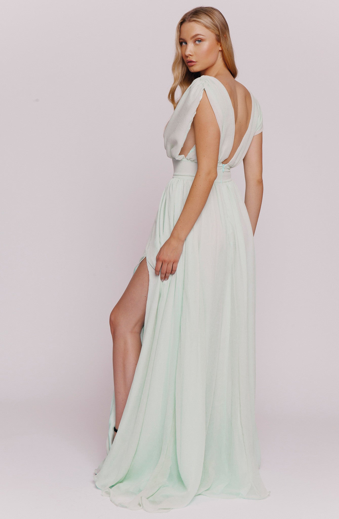 RIVERA SILK GOWN