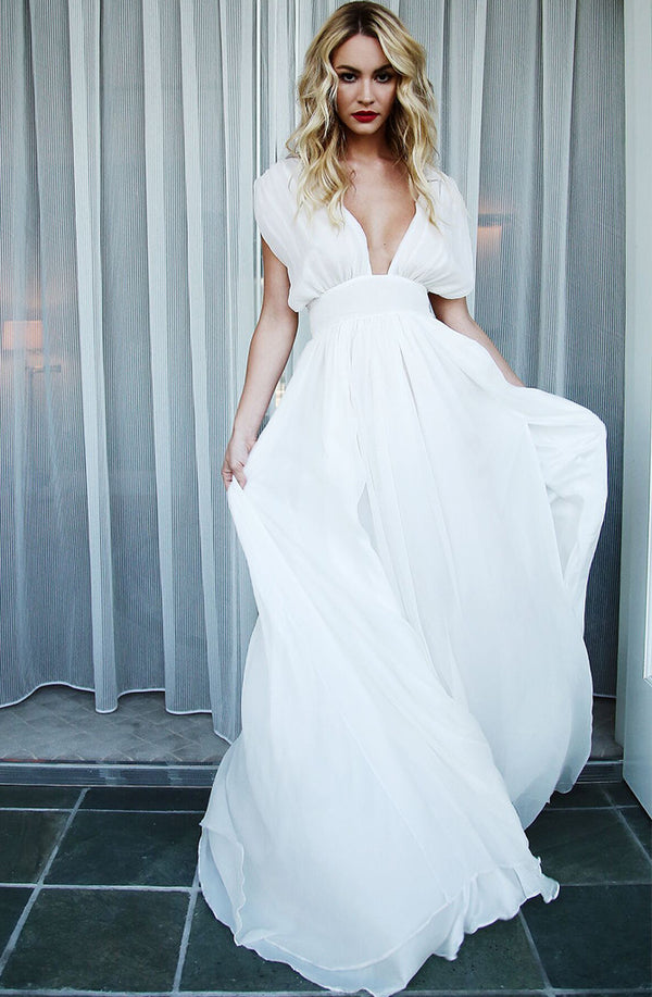 RIVERA SILK GOWN - Lurelly