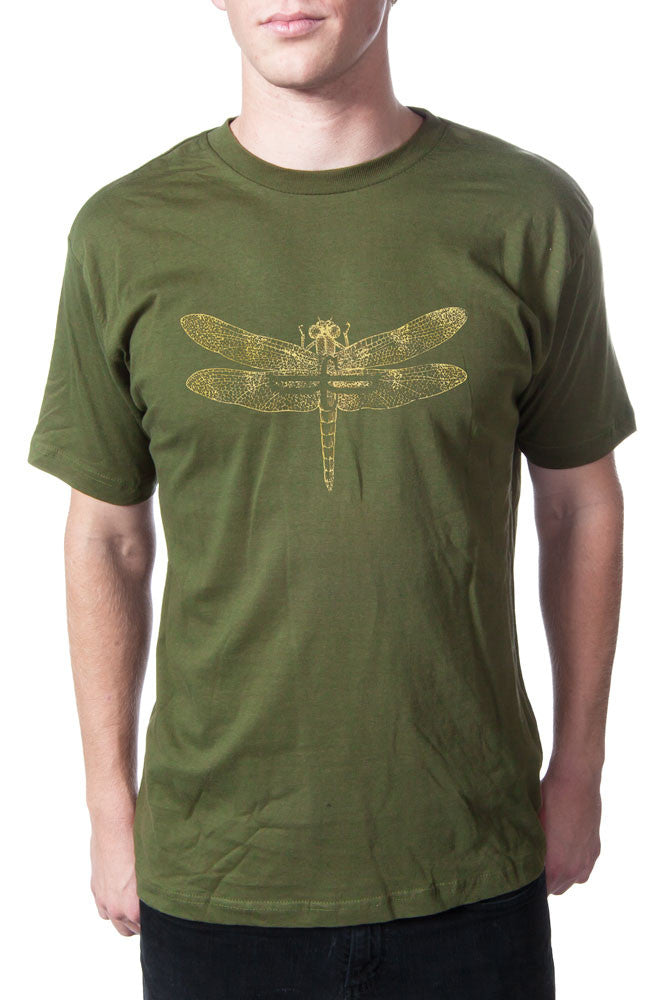 Dead Can Dance 2013 Dragonfly Tour Tee Olive