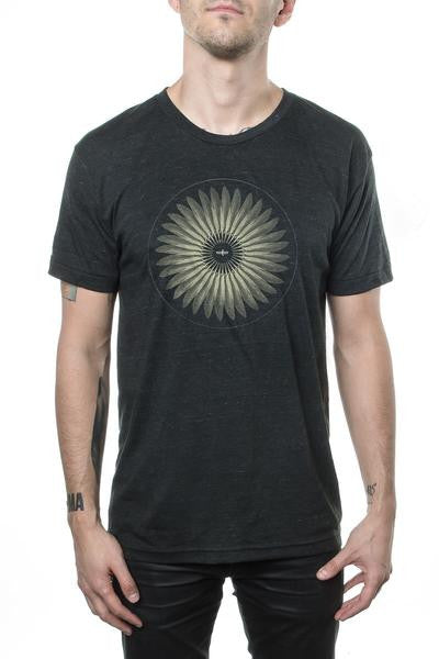 Dead Can Dance Feather Tee Heather Charcoal