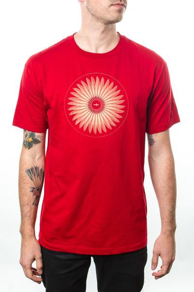 Dead Can Dance 2013 Feather Tour Tee Red