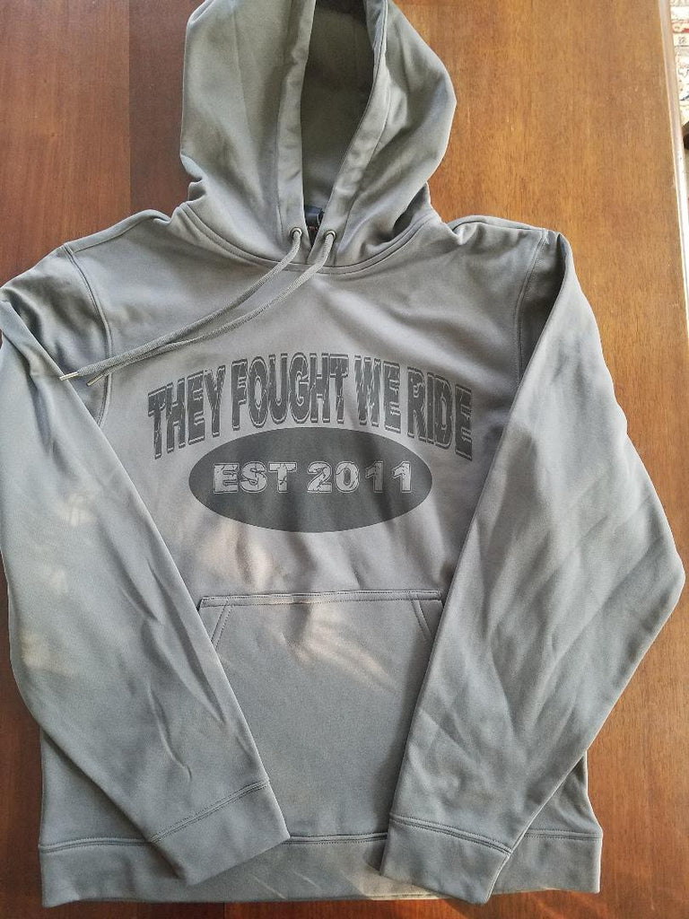 THEY FOUGHT WE RIDE ~  EST 2011 & Logo Hoodie
