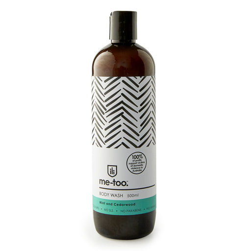 Me Too Body Wash - Mint and Cedarwood