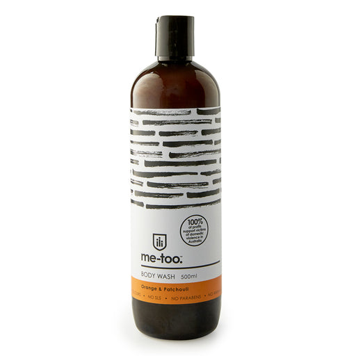 Me Too Body Wash - Orange and Patchouli