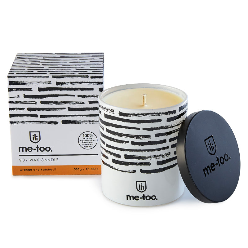 Me Too Scented Candle - Orange and Patchouli