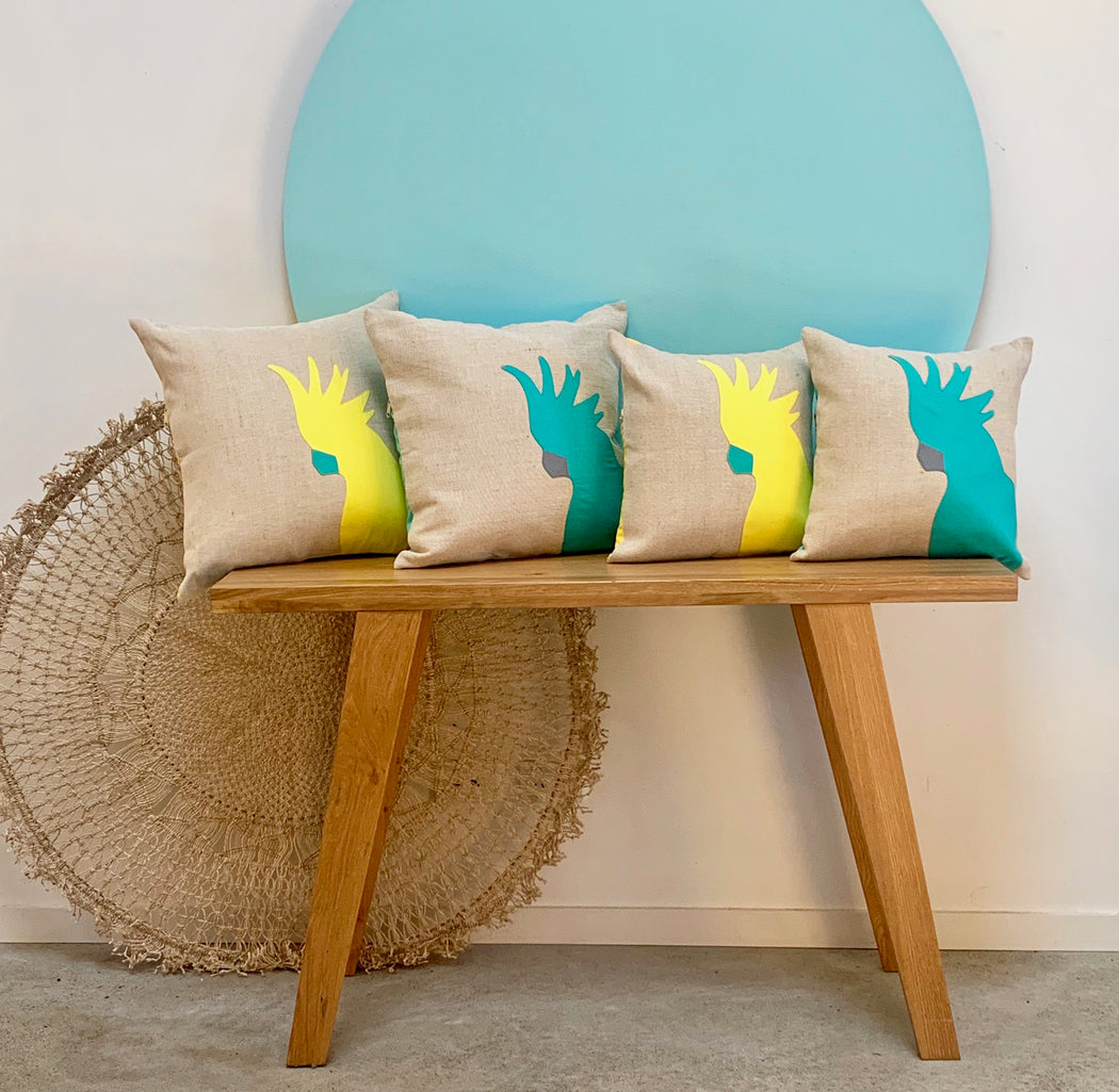 Cockatoo Cushion 50cm