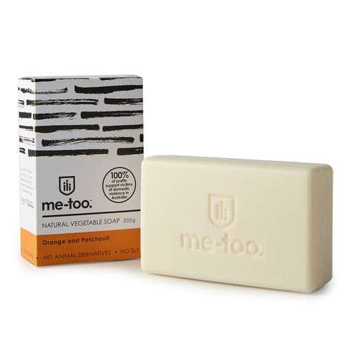 Me Too Natural Vegetable Soap Bar  - Orange and Patchouli
