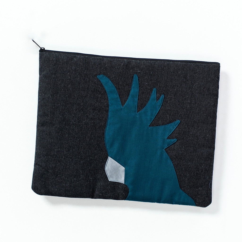 Cockatoo Laptop Wallet