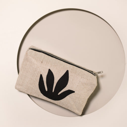 Black Botanical Makeup Bag x1 AVAILABLE AND PREORDER
