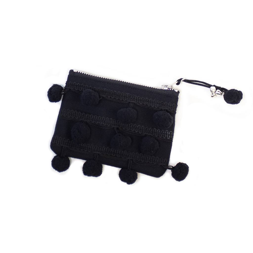 Night Pom Pom Purse