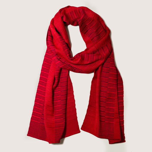 HAND-LOOMED MIE MEH SCARF