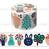 Finnish Forest Japanese Washi Tape Aimez