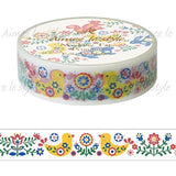 Folk Art Nature Japanese Washi Tape Aimez