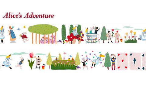 Alice's Adventure Japanese Washi Tape Aimez