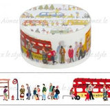 Bus Stop Japanese Washi Tape Aimez