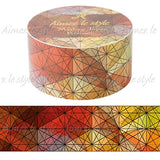 Kaleidoscope Skylight Autumn M Japanese Washi Tape Aimez le style