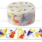 Play Orchestra Japanese Washi Tape Aimez