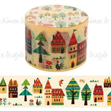 Forest Town Wide Japanese Washi Tape Aimez le style